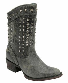 Corral Studded Short Cowgirl Boots - Sheplers
