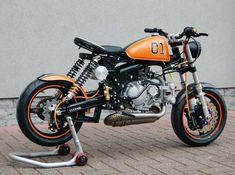 "Racing Cafè: Honda Monkey ""Dukes of Hazzard"" by T-Factorbikes"