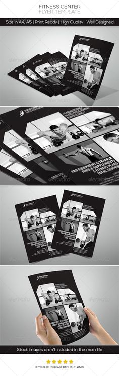 Fitness Center Flyers by on DeviantArt Best Cardio Workout, Fun Workouts, Free Business Card Design, Fitness Flyer, Rollup Banner, Sports Flyer, Event Flyer Templates, Event Flyers, Print Templates