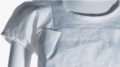   Junya Watanabe, White polyester unwoven fabric, 1996  