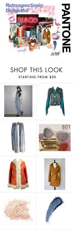 """""""Retrospectively Delightful"""" by misartes ❤ liked on Polyvore featuring Level 99, Thea Porter, Almost Famous and Christian Louboutin"""