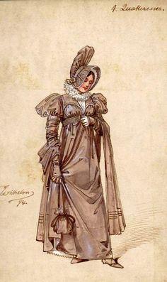 Antique costume design