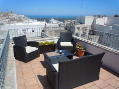2 bedroom apartment in Ostuni, Brindisi area - 8088061 2 Bed House, 2 Bedroom House, 2 Bedroom Apartment, Outdoor Furniture Sets, Outdoor Decor, 18th Century, Townhouse, Terrace, Patio
