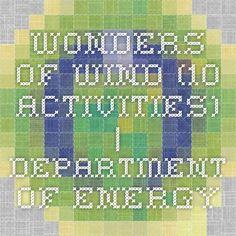 Wonders of Wind (10 Activities) | Department of Energy