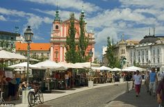 Baroque beauty: Ljubljana is small and pretty, and easy to navigate.