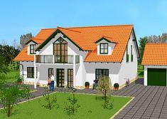 Besondere Häuser - Wohnen nach Maß | GSE HAUS Style At Home, Planer, Modern, Mansions, House Styles, Home Decor, Arquitetura, Front Elevation, Collection