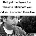"""A pitcher tried fake throwing me back to second when no one was even at the bag. Then I mouthed """"throw it I dare you"""" and she was mad Girls Softball, Softball Players, Softball Things, Softball Stuff, Funny Softball Quotes, Softball Problems, Softball Catcher, Baseball Pictures, Sports Memes"""