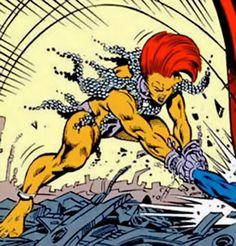 rampage dc comics | Rampage - DC Comics - Kitty Faulkner - Superman character - Profile ...