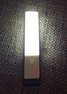 [LEDemain] - wiederaufladbare USB Wireless Wandleuchte mit Bewegungsmelder