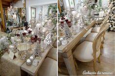 Decoração Prata No Natal Armazém Fornari!