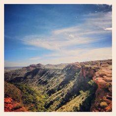 Kings Canyon in the NorthernTerritory #Australia