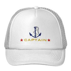 Shop Boat Captain Trucker Hat created by hungaricanprincess. Fishing Photos, Boater Hat, Custom Hats, Classy And Fabulous, Nautical, Captain Hat, Fashion Accessories, My Love, My Style
