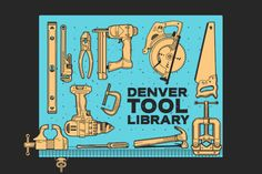 If everyone contributes a little, the Denver Tool Library can offer A LOT.