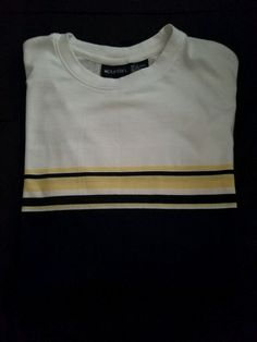 8645244d005 Puritan mens tshirt navy blue yellow and white size 3xl  fashion  clothing   shoes  accessories  mensclothing  shirts (ebay link)