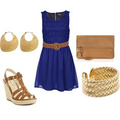 Nice simple dress for so many occasions