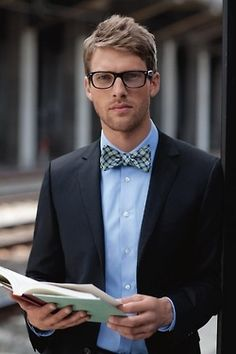 simple bow tie done well BOWTIES