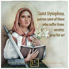 St. Dymphna (Anxiety)