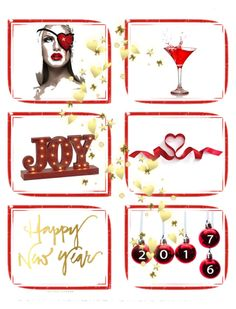 """""""Happy new year'17"""" by sky31-1 on Polyvore featuring art Happy New Year, Merry Christmas, Joy, Holiday Decor, Polyvore, Design, Merry Little Christmas, Happy New Years Eve, Merry Christmas Love"""