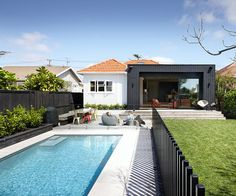 Having a pool sounds awesome especially if you are working with the best backyard pool landscaping ideas there is. How you design a proper backyard with a pool matters. Backyard Pool Landscaping, Backyard Pool Designs, Pool Fence, Swimming Pools Backyard, Swimming Pool Designs, Fence Around Pool, Oasis Backyard, Glass Pool Fencing, Interior Design Blogs