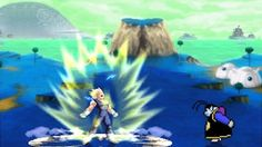 DragonBall Z Battle of Z MUGEN - Transformations and fusions (Sprite Ani...
