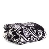 Throw Blanket in Midnight Paisley (Vera Bradley).  This thing is ridiculously warm & ridiculously soft.