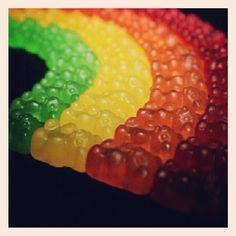 Gummy bear rainbow!