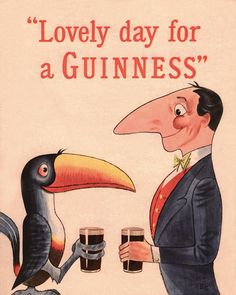 Fun Vintage Ads For Guinness That Are Surprisingly Wholesome - DesignTAXI.com