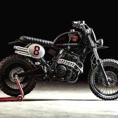 Honda 650 Svakow Scrambler #motorcycles #scrambler #motos | caferacerpasion.com