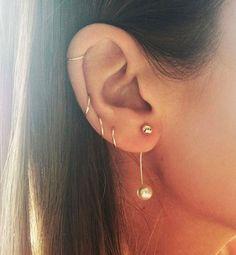 piercing d'oreille