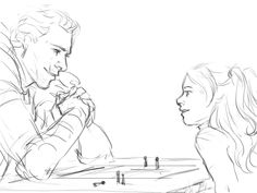 Cullen and his little girl