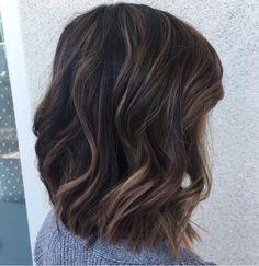 Love this cut & colour! Love this cut & colour! Medium Hair Styles, Short Hair Styles, Perfect Hair Color, Fall Hair, Hair Dos, Balayage Hair, Hair Lengths, Hair Inspiration, Hair Makeup