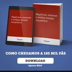 Lançamento do Ebook Negócios, internet e mídias sociais na prática!