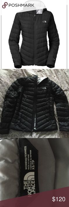 North Face down jacket product name: The North Face Women's Tonnerro Hoodie (CLE3)                                         XS/S, super warm, 700 fill goose down, minimal use, because I grew out of it after one season!! All-around great winter jacket! (will sell for less on merc) The North Face Jackets & Coats
