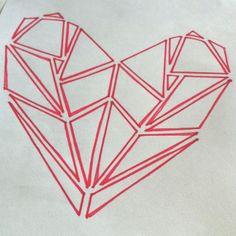 Geometric heart <3