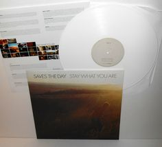 SAVES THE DAY stay what you are LP Record WHITE Vinyl with lyrics insert #punkAlternativeIndieEmo