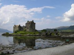 Eilean Donan is the most photographed castle in all of Scotland, mostly because of its fairytale setting, on an island at the meeting point of three great lochs. The original castle was built during the 13th century, as defense against the Vikings and later became a stronghold of Clan Mackenzie.