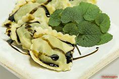 The 3 Foragers: Foraging for Wild, Natural, Organic Food: Garlic Mustard Recipe - Garlic Mustard and Cheese Ravioli