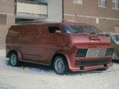 """Wild Rose"" Custom 70's van"