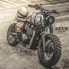 Zeus Custom Triumph #bike #wheels #lifestyle