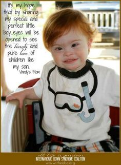 Beauty and Love! International Down Syndrome Coalition- IDSC