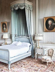Soft Hues Of Blue Influence The Decoration Of This