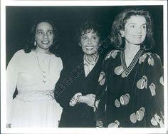 Coretta Scott King, Lena Horne and Jackie.   www.facebook.com/pinkpillbox