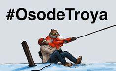 El #comic #OsodeTroya de @PELOPANTON sobre el #CambioClimatico necesita crowfounding