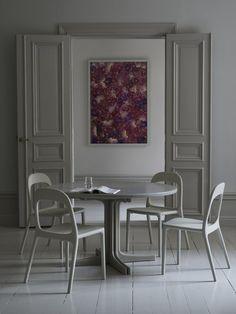Gray Interior, Interior And Exterior, Interior Doors, Grey Doors, Cinema Room, Beautiful Interiors, Home Fashion, Interior Design Inspiration, White Walls