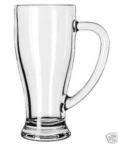 Libbey 14 Ounce Tall Glass Cafe Hot Cold Mug 12 Piece 1 Case | eBay