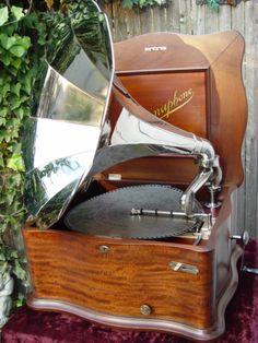 The Meekins Antique Regina Music Box Regina Phone
