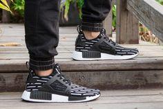 innovative design 1bac0 2621b adidas Originals NMD XR1 Negro Blanco hombres Zapatos S81532 nuevo