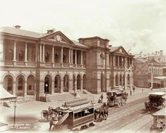 General Post Office, Queen Street, Brisbane, 1897