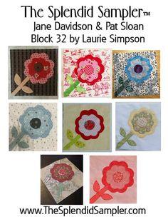 Block 32 – The Constant Needle | The Splendid Sampler | Bloglovin'