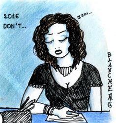 Bonne résolution de 2016: Ne plus avoir de baisse d'énergie! (Et c'est pas gagné!)